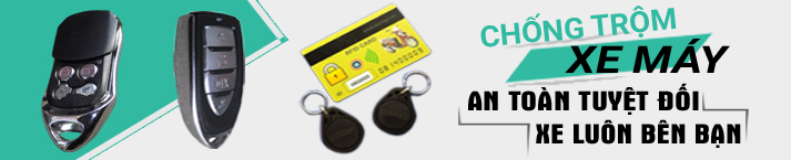 Khóa Remote chống trộm xe máy - Ptrack Remote 1